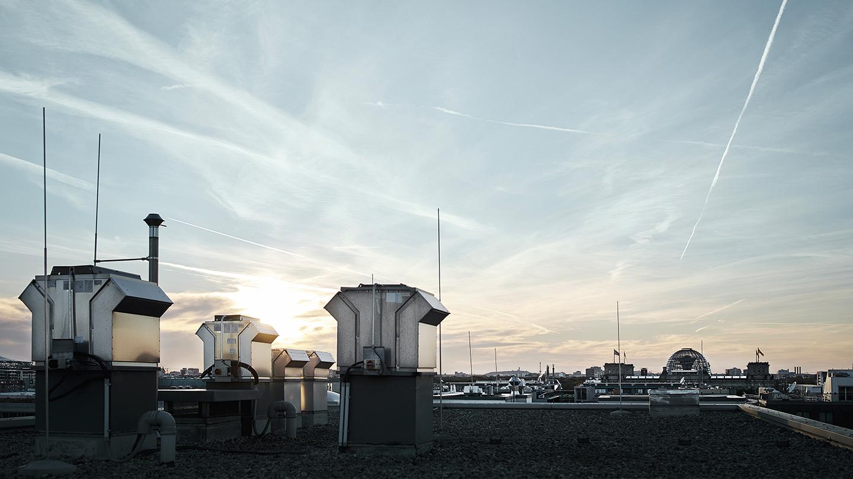 Rooftop-Aussicht über Berlin